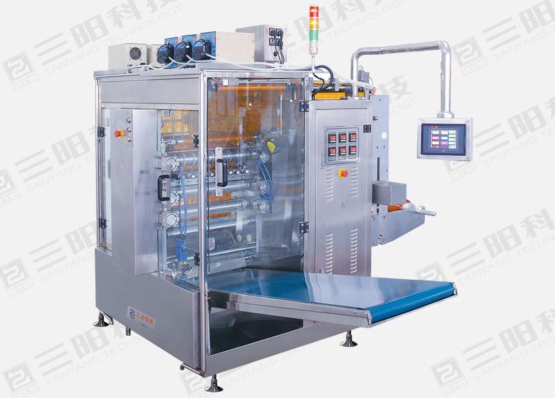 DXDO-Y900EU 全自动四边封蠕动泵液体包装机
