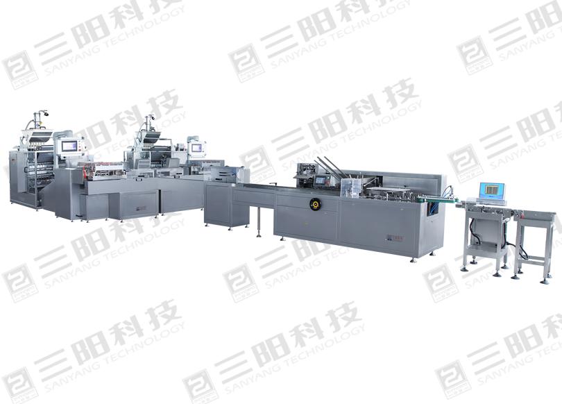DXD-KL900 全自动颗粒包装生产线