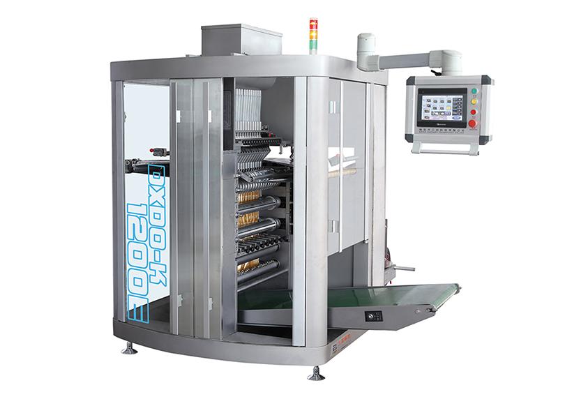 DXDO-K1200E全自动四边封多列颗粒包装机